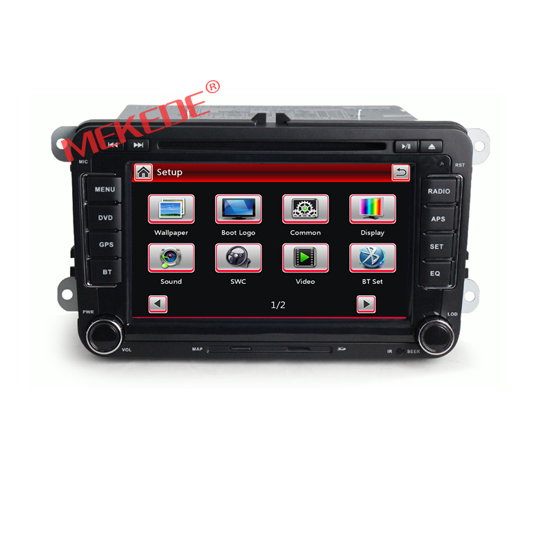 Car radio dvd player for Volkswagen passt with bluetooth,free map,gps,DVD