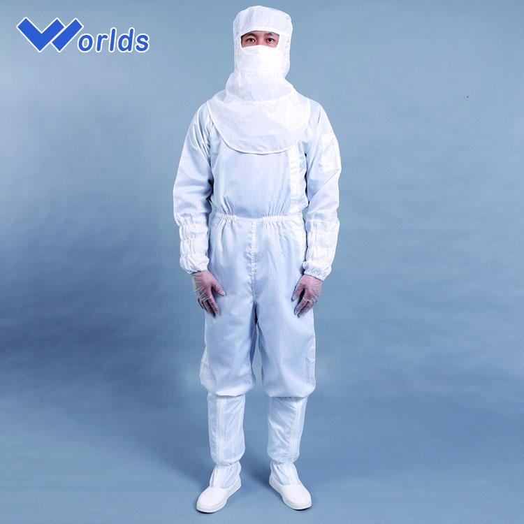 Good Quality Cleanroom Coverall and ESD Clean Room Clothes