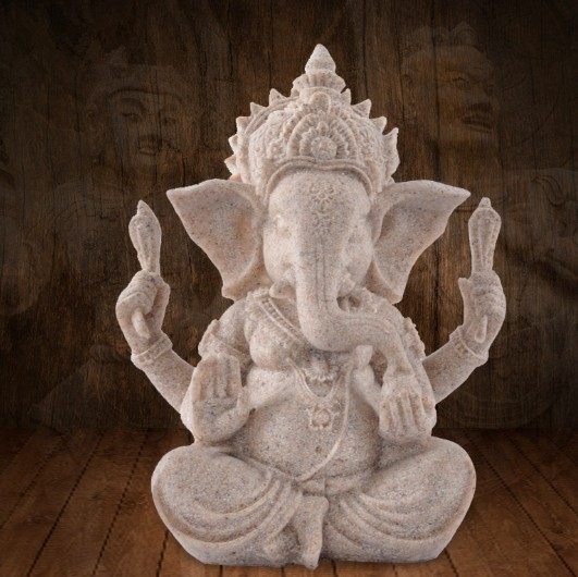 Craft india god figuur mini size boeddhabeeld