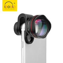 IBOOLO의 Metal dual camera lens clip 60 MM mobile 카메라 2X 망원 lens 대 한 IOS 안드로이드 Smartphone