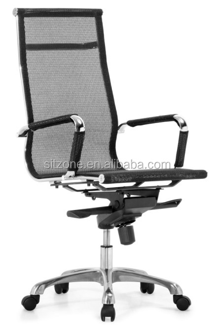 Ch-021a1-1 High Back Wire Mesh Shunde Office Chair With Chrome ...