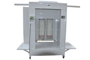 Closed-Drive-Thru Used Industrial Powder Coating Paint Spray Booth