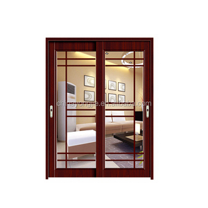 Zhejiang Yujie high quality aluminium bathroom doors and windows folding door home toilet using