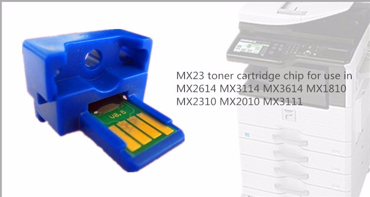 Compatible SHARP MX2614 MX3114 MX3614 MX23 cartridge toner chip