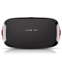 In Stock Ling VR 2016  New 3d Smart Glasses Polarized Resin Lens Virtual Reality Helmet 3D Glasses VR Headset
