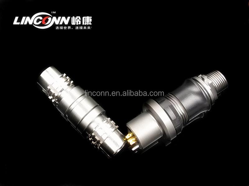 5 Pin Circular Pcb Connector China Metal Waterproof Connector ...