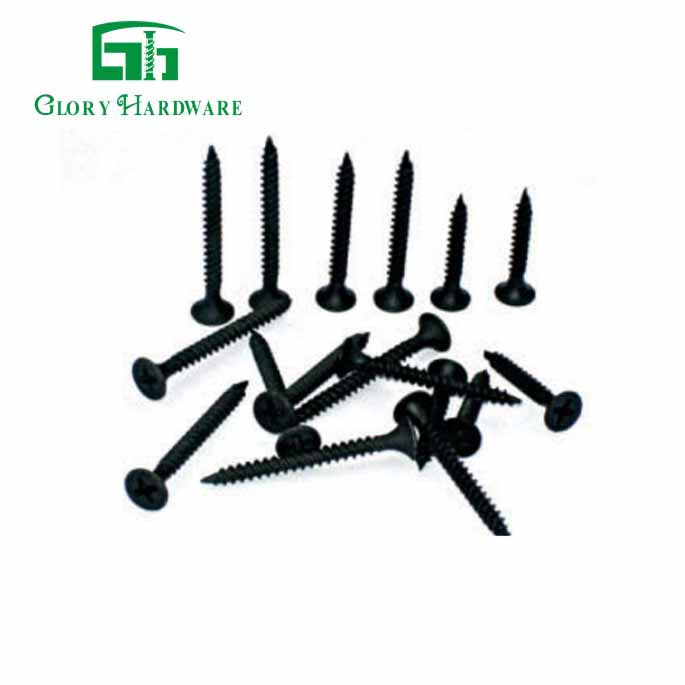 china furniture drywall self drill black screw