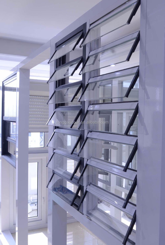 Aluminium fenêtre volet pour salle de bains fenêtres id de produit ...