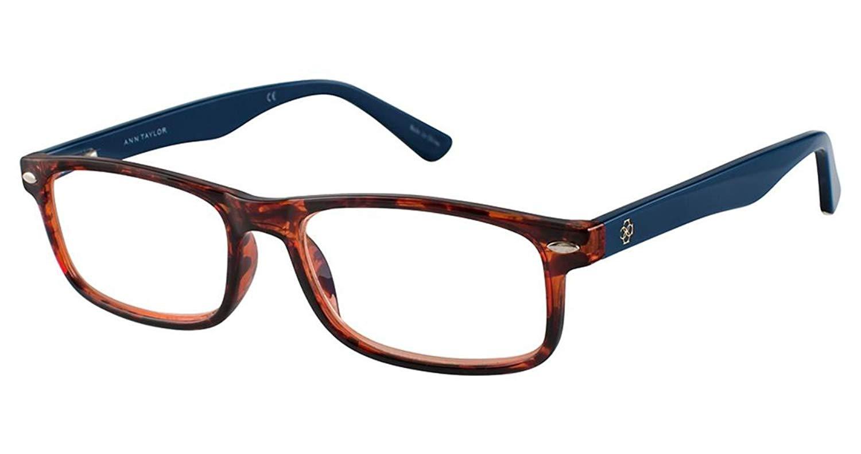 3e2e29a4ed89 Get Quotations · Eyeglasses Ann Taylor Reader ATR 010 C15 TORTOISE NAVY