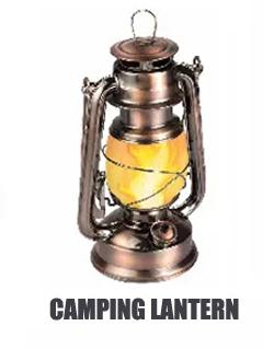 Antieke Koperen Draagbare Opknoping 2 Kleur Temperatuur 48 SMD LED Vlam Flickering Camping Kerosine Lantaarn