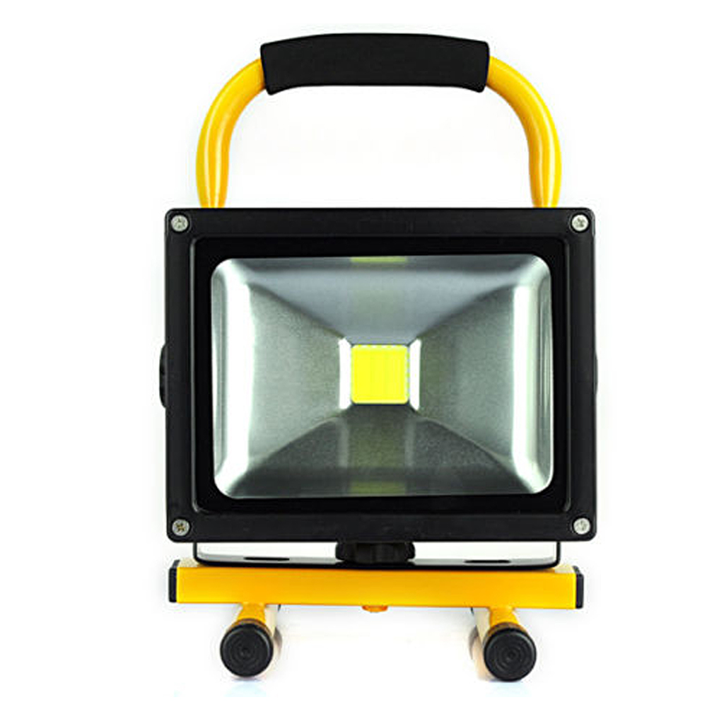 Led Flood Light Rechargeable 20w: LED Rechargeable Floodlight 20W Cordless Rechargeable LED
