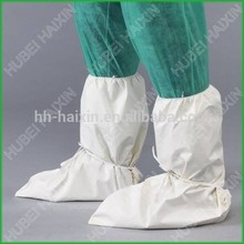 2015 Haixing wholesale disposable non-woven boots cover with strip