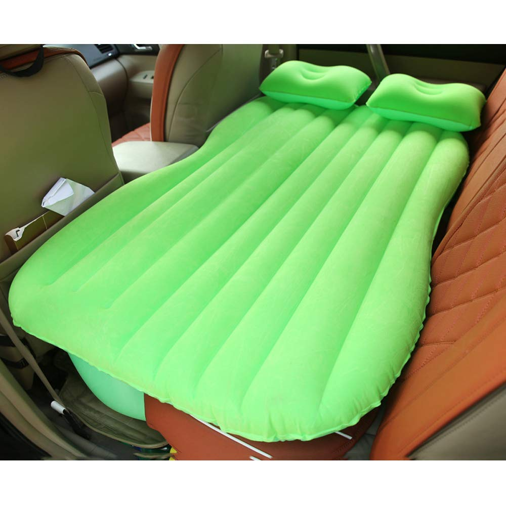 YHJM Car Flocking air Bed Car Shock Mattress Car Lathe Inflatable Cushion Car Travel Bed car Mattress