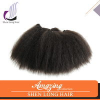 Fashion Hair Weaving Curly Synthetic Hair Weft 100% Heat Resistant Fiber High Quality Hair Extension