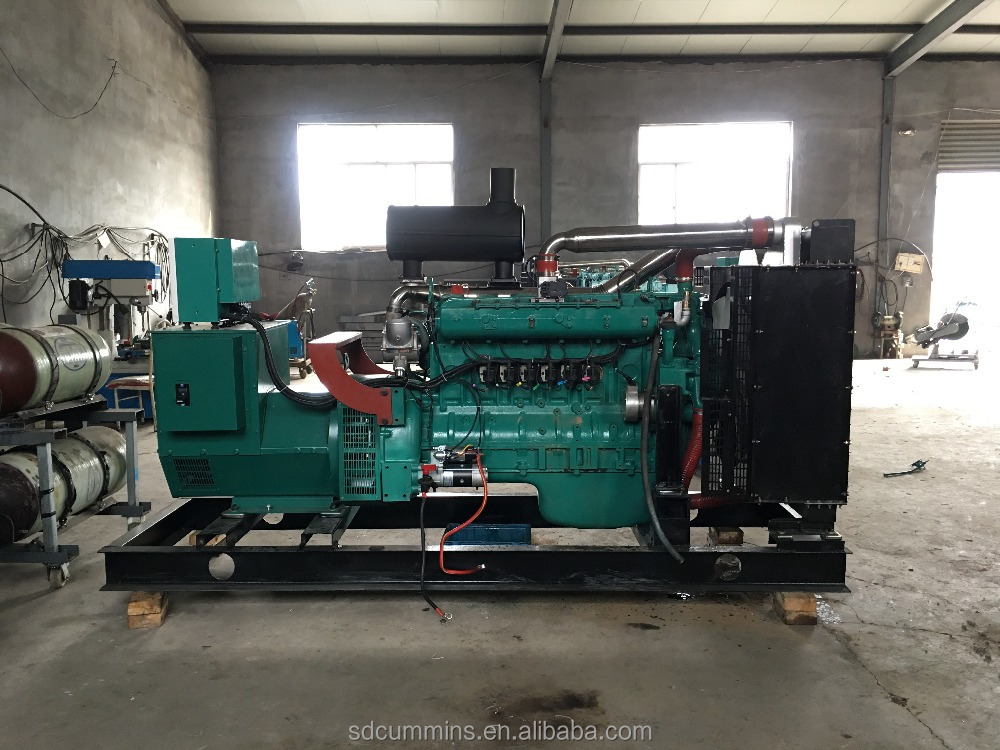 500kw natural gas generator ac three phase with stanford alternator for sale