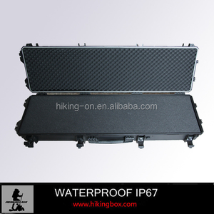 Supper Strong Plastic Gun Case with Customized Foam Insert