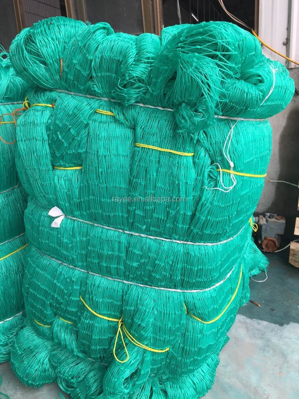 nylon fishing net, Monofilament multifilament fishing net factory price ,hot sales safety nets winwows balcony red de pesca