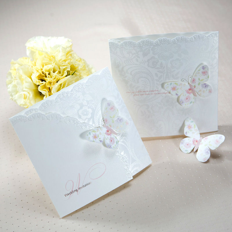 Butterfly Wedding Invitation Cards Butterfly Wedding Invitation – Butterfly Wedding Invite