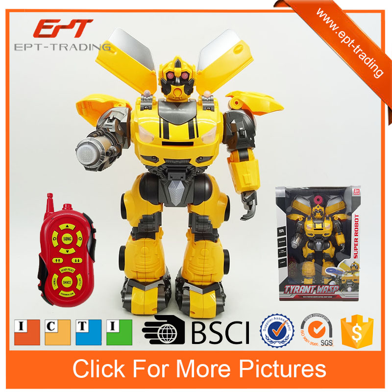 Robot new products Infrared RC Tyrant Wasp fighting robot with light and sound rc robot