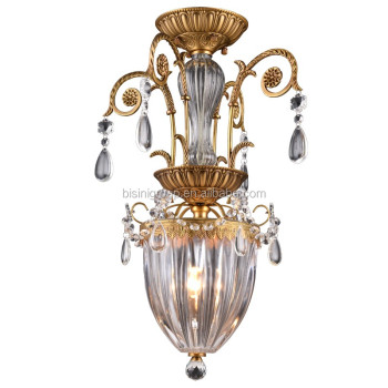 New Designed Classic Golden Rose Bud Single Pendant Lighting Antique Crystal Flower Chandelier BF11-  sc 1 st  Alibaba & New Designed Classic Golden Rose Bud Single Pendant Lighting ... azcodes.com