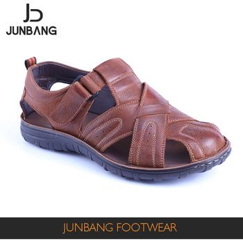 4d60884d1877 New Style Men Summer Genuine Leather Sandals - Buy Sandals
