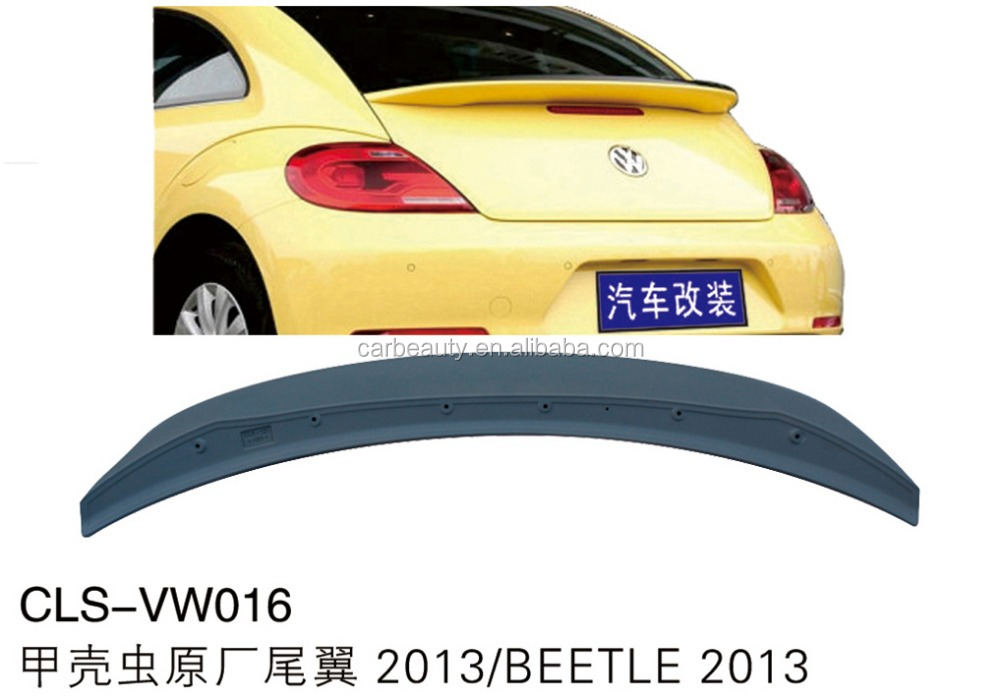 VW016 ABS car rear wing spoiler for VOLKSWAGEN BEETLE 2013