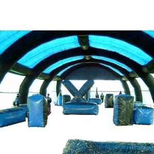 China custom commercial inflatable paintball arenas/Paintball Fields for sale paintball inflatable arenas for shooting