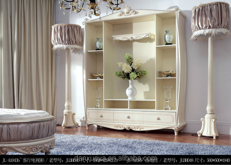 High Quality European Luxury Style Table,Chair,Book Cabine