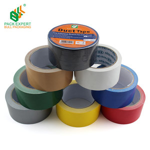 Supply Custom Printed/Colored Duct Tape 48mm Red Cloth Tape Wholesale