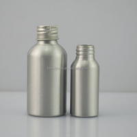 Manufacturer 30ml 60ml primary color aluminum dropper bottle with aluminum cap and pipette
