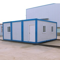 Hot sale 20ft modular prefabricated container house for outdoor storage sheds