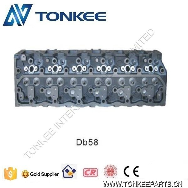 DB58T Engine cylinder head DB58 cylinder head for DOOSAN Excavator