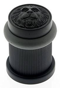 IDH by St. Simons 13090-019 Lion Head Bullet Bumper Door Stop