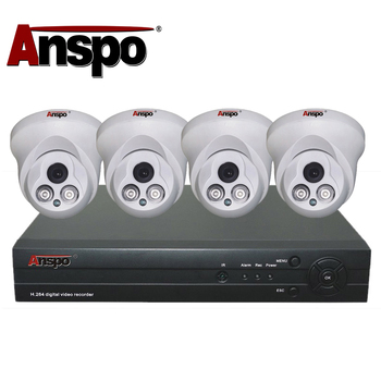 Factory Cheap Home Camera System 8ch Outdoor Waterproof Metal Security Camera System 4 Channel AHD 1080P DVR CCTV