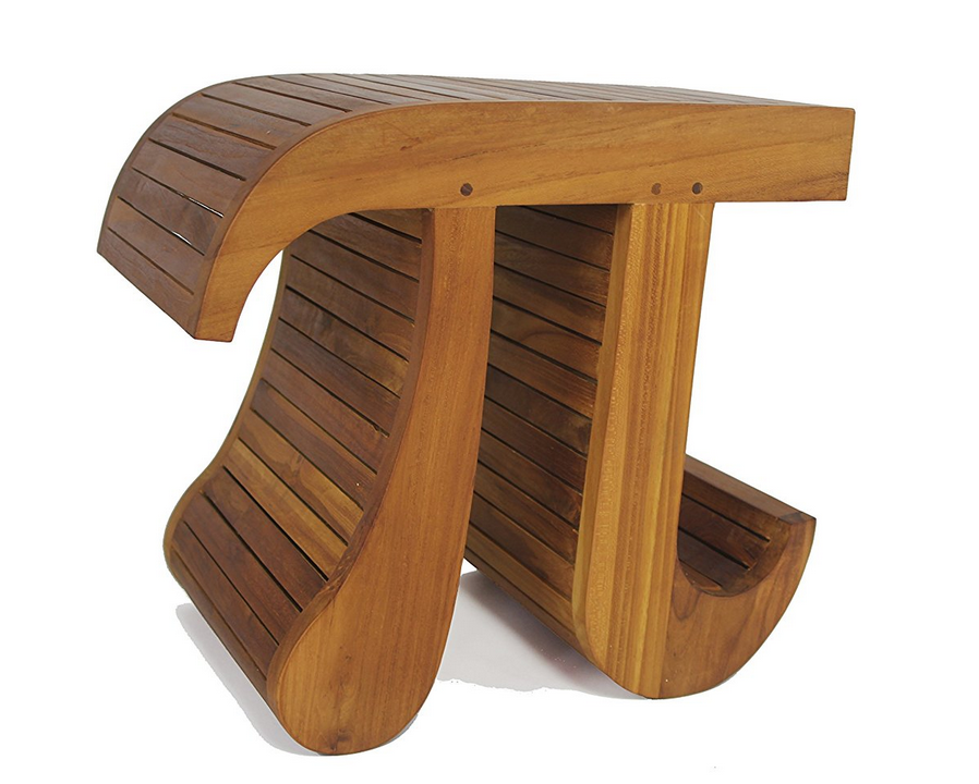 Pi Shaped Bamboo Or Teak Shower Bench For Bathroom Buy Antique Teak Bench Pi Shaped Bamboo Bench Shower Bench For Bathroom Product On Alibaba Com