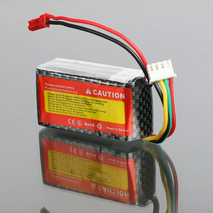 25C 3S 12 Volt Battery 11.1V 900mAh 3cell for Align KX019011 T-Rex 250 PRO