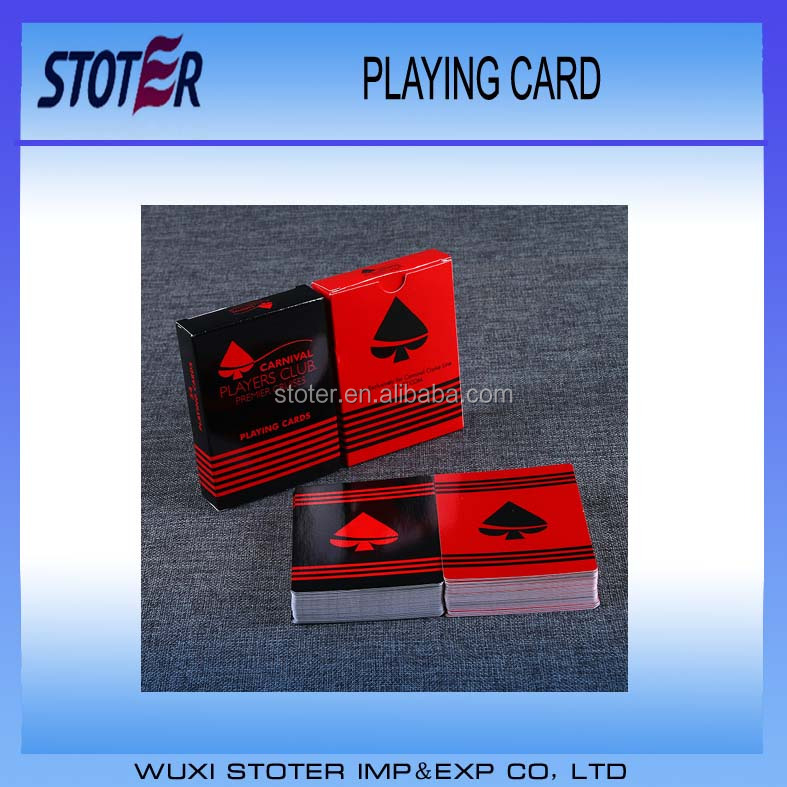 High quality custom game playing cards
