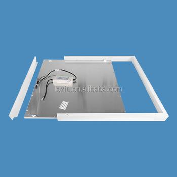 Aluminum Surface Mounted Led Panel Ceiling Frame For Led Panel Light 1x4  2x2 2x4 - Buy Led Panel Ceiling Frame,Aluminum Led Panel Ceiling