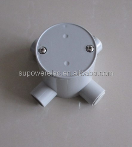 Australian 25mm Four Way Round Electrical Junction Box