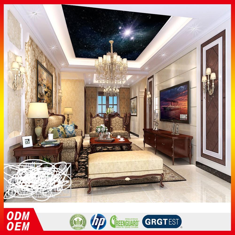 Royal Wallpaper Langit Langit 3d Bintang Desain Wallpaper