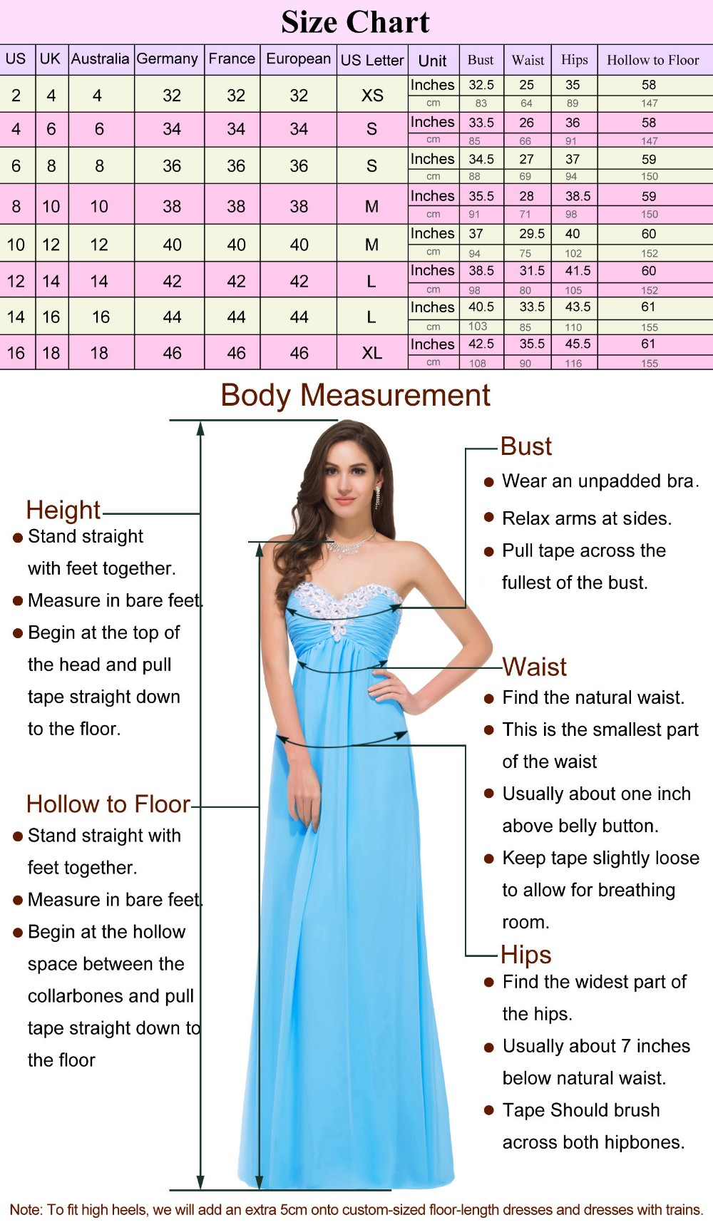 Grace Karin Sleeveless Boat Neck Chiffon Long Sky blue Prom Dress GK000093-1