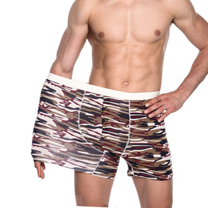New arrival top boxer shorts oem printed cheap fancy mens brand underwear mens boxers
