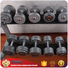 OEM factory gym club used stainless steel dumbbell set
