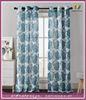 Polyester Floral Chic Luxurious Curtain For Living Room
