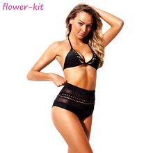 e5d879cf43 3pcs WHOLESALE swimwear from china see through sexy bikini high waist for  lady