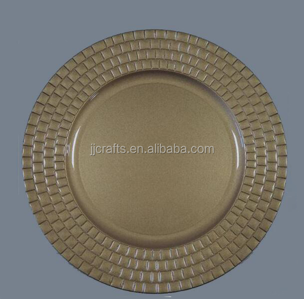 hot new products Wholesale gold Plastic Plate/Disposable Plastic tableware / Dish