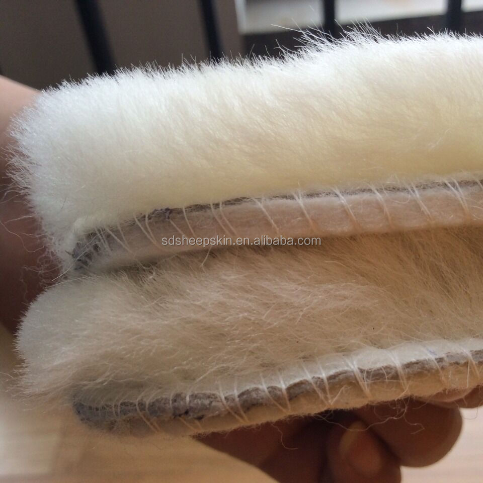Wholesale Australian Sheepskin Wool Boot Insoles Shoe Bottom Foot ...