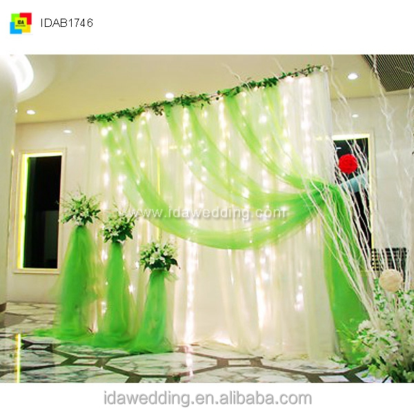 Fancy Cheap Wedding Stage Backdrop Decoration Indian Stages Decorations India