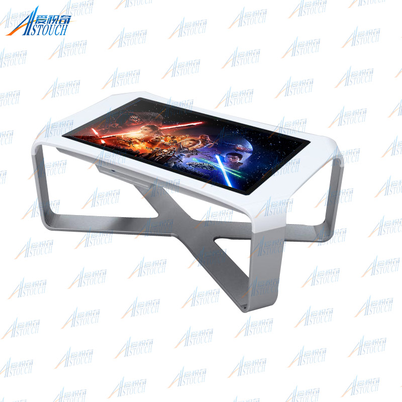 "42"" interactive touch smart table kiosk with touch screen embedded android"