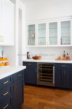Modern Navy Blue Shaker Kitchen Cabinet Cupboard For Sale Buy